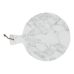 Maltby Round chopping board, marble
