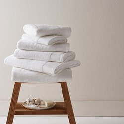 Barnes Set of 6 towels, white