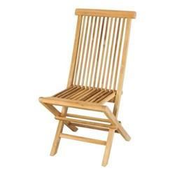 Snapdragon Folding chair, H95 x W54 x D44cm, teak