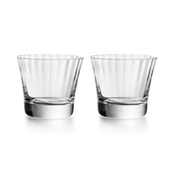 Mille Nuits Pair of tumblers no.3, H8.4cm - 19.3cl, clear