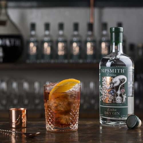 Distillery tour, gin tasting and three-course gin-inspired dinner for two with Sipsmith