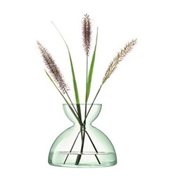 Canopy Vase, H18cm, clear