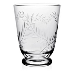 Country - Jasmine Footed tumbler, 11.5cm, clear
