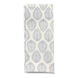 Leaf Set of 4 napkins, 45 x 45cm, blue cotton
