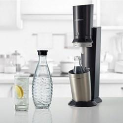 Crystal Sparkling water maker, black