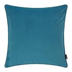 Velvet cushion, W45 x L45cm, ocean