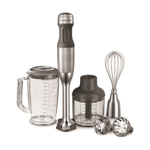 Hand blender, 5-speed, stainless steel