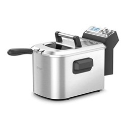 The Smart Fryer, brushed stainless steel