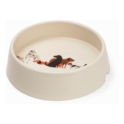 Dog Tales Dog bowl, H9.5cm, multi