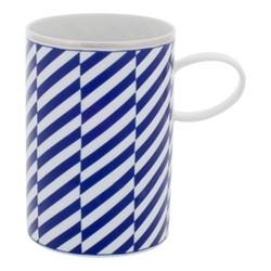 Harvard Mug, H11 x D8cm, blue