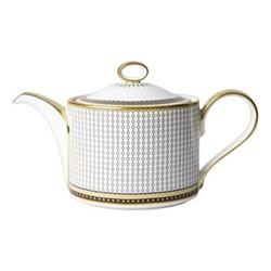 Oscillate - Onyx Large teapot - charnwood, H15cm, black/white