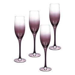 Kingsley Champagne flute, 24cl, plum