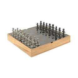 Buddy Chess set, natural