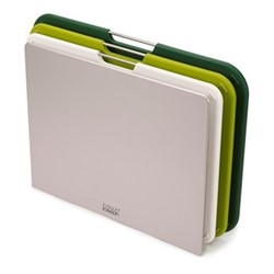 Nest Set of 3 large chopping boards, green