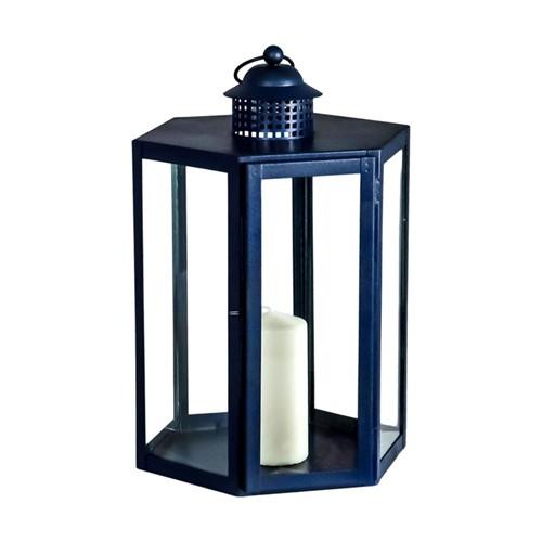 Indoor/Outdoor Lantern, W25 x D41 x L27cm, Navy