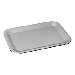 Original Vintage Rectangular platter, L31 x W21cm, stainless steel
