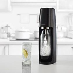 Spirit Sparkling water maker, black