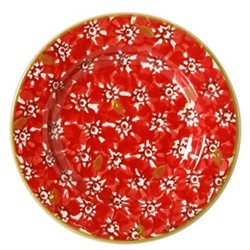 Lawn Tiny plate, D13cm, red