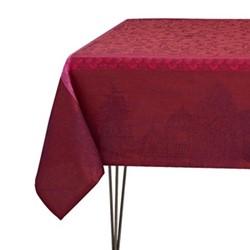 Symphonie Baroque Tablecloth, 120 x 120cm, maroon