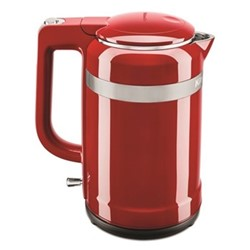 Design Kettle, 1.5 litre, empire red