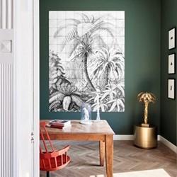Art - Ferns Wall decoration, 120 x 160cm