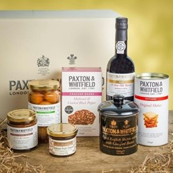 The No. 93 Cheese and port hamper, 35 x 26 x H19cm, gift box