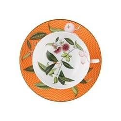 Tresor Fleuri Teacup extra, D11.4 x H4.5cm, orange