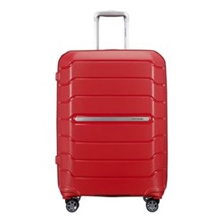 Flux Spinner expandable suitcase, 68 x 47 x 30/34cm, red