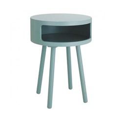 Bumble Side table, D40 x H56cm, sage