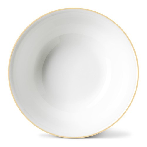 Rainbow Collection Cereal bowl, Dia16 x H5.5cm, gold rim