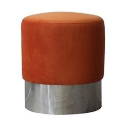Chandler Stool, W40 x H45 x D40cm, orange