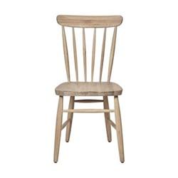 Wardley Dining chair, W51 x D57 x H92.8cm, natural oak