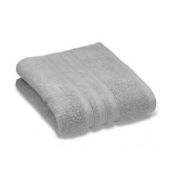 Zero Twist Bath towel, 70 x 120cm, silver