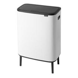 Bo Hi touch bin, 30 litre, white