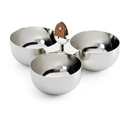 Wyatt Triple nut bowl