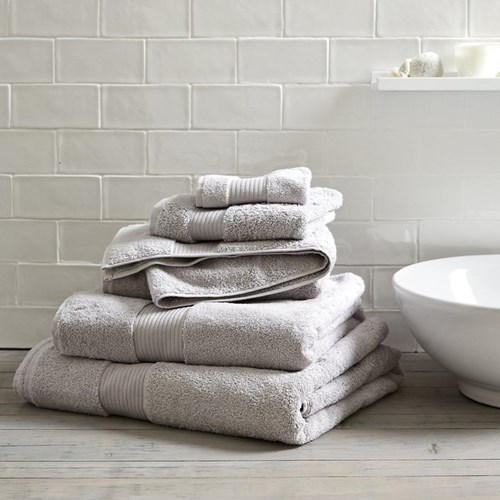 Egyptian Cotton Bath sheet, 100 x 150cm, pearl grey