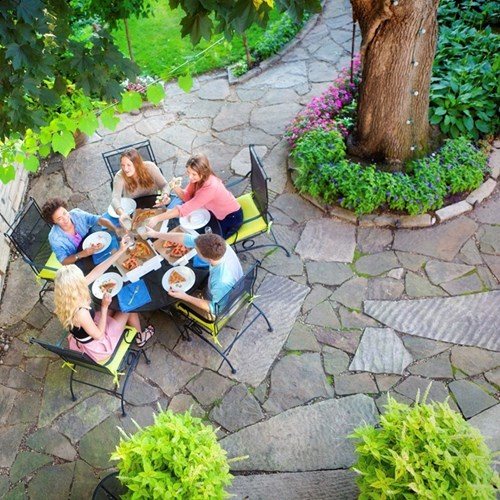 Garden patio fund