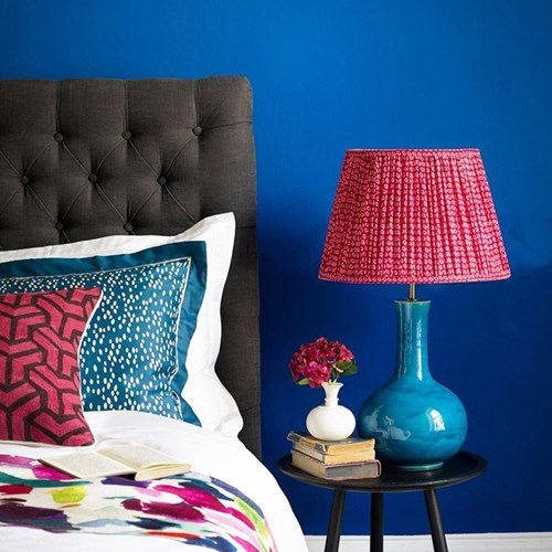 Nellie Table lamp - base only, H34 x W22cm, turquoise glaze