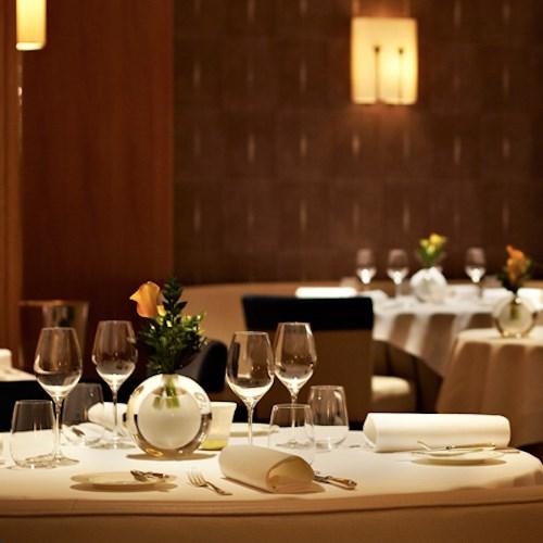Vegetarian tasting menu for two at restaurant Martin Wishart