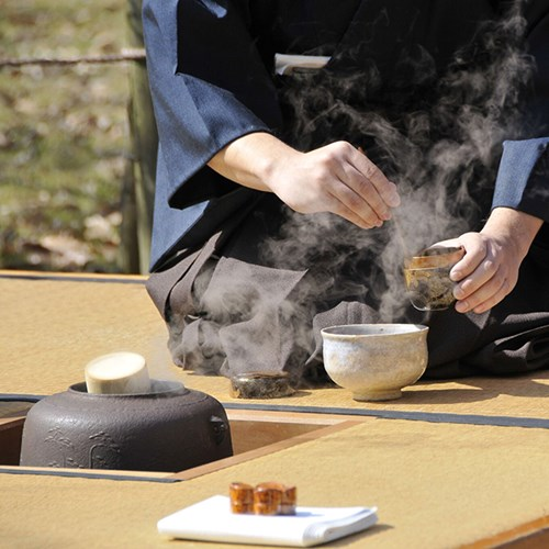 Tea ceremony with a grandmaster and culinary break for two