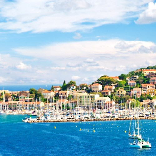 Yacht break and Michelin star dining for two in Saint-Tropez