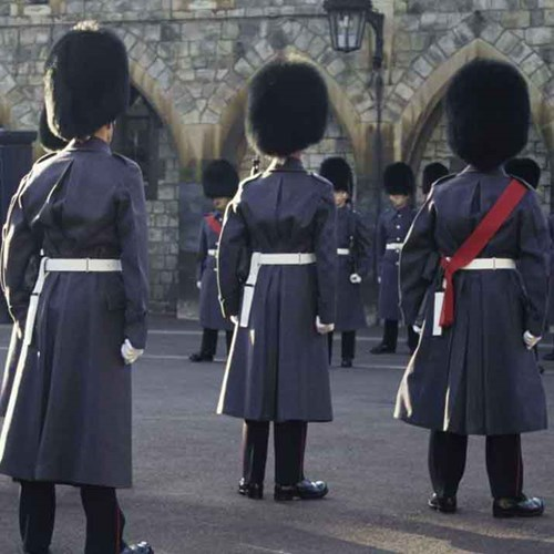 Windsor castle tour with award-winning afternoon tea for two