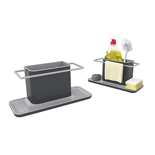 Caddy Sink area organiser, Large, grey