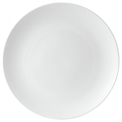 Gio Serving platter, 31cm, white/ bone china