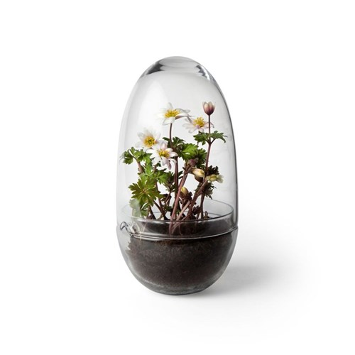 Grow Large greenhouse, D12 x H24cm, clear