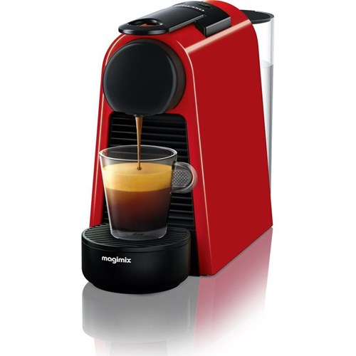 Essenza Mini - 11366 Coffee machine by Magimix, ruby red