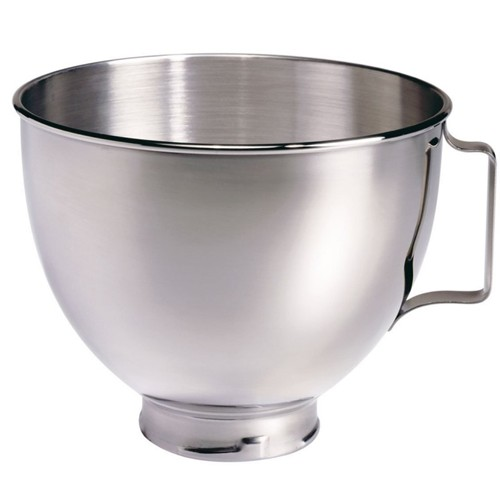 Polished bowl, 4.8 litre, stainless steel