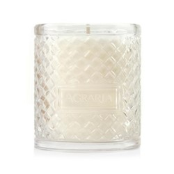 Woven Crystal Scented candle, 198g, lime and orange blossom