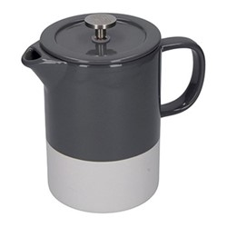 Barcelona Cafetiere, 8 cup - 850ml, cool grey