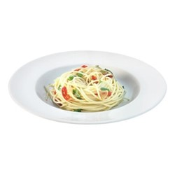 Dine Set of 4 pasta plates, 30cm, white